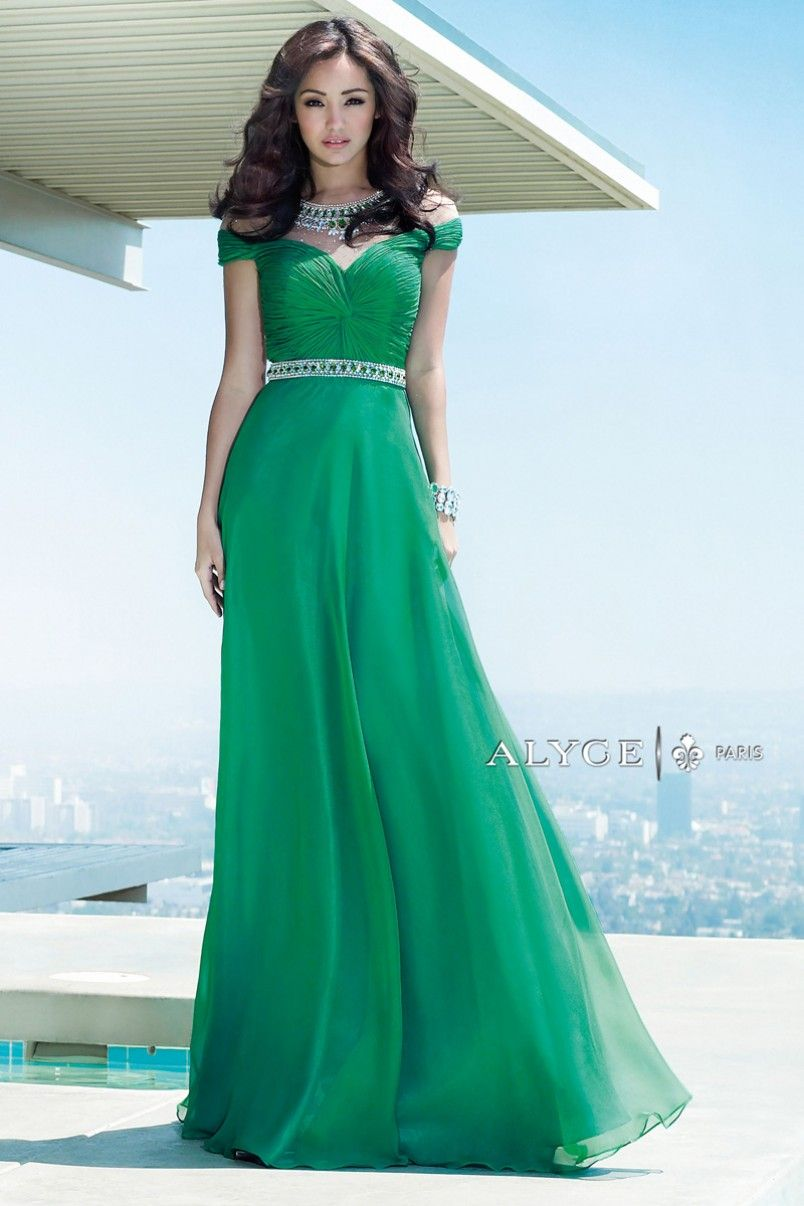 Alyce Paris | Prom Dress Style #6333 Front View | + GLAMOUR ...