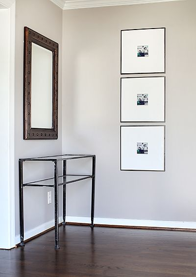 18x18 Room Essentials gallery frames from Target ($20)...spray ...