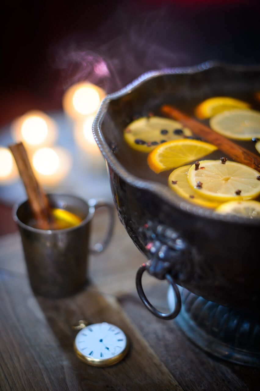 New Year's Eve Cocktail ideas: Charles Dickens Hot Gin Punch by Portobello Road Gin