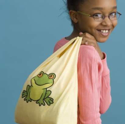 Turn your child's favorite too small t-shirt into a cute and convenient tote bag! (via @Spoonful www.spoonful.com)