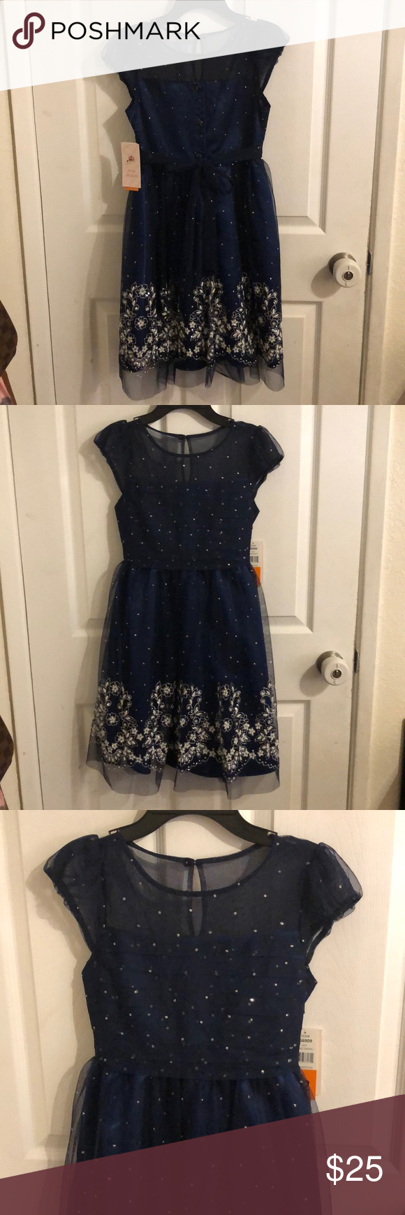 New With Tag Jona Michelle Girls Dress Size 12 Girls Dresses Size 12 Dresses Girls Dresses [ 1740 x 580 Pixel ]