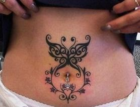 Belly Button Tattoo Designs Belly Button Tattoos Belly Tattoos Lower Belly Tattoos