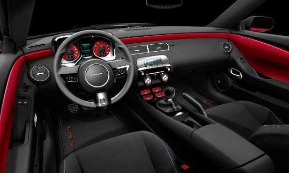 2018 Chevrolet Camaro ZL1 Interior HD Car Desktop Wallpapers