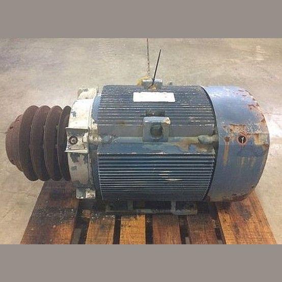 230 X2f 460v 60 Hz 1770 Rpm Frame 326t 121 2 X2f 60 6a Tefc Enclosure 3 Groove Sheave General Electric Motor
