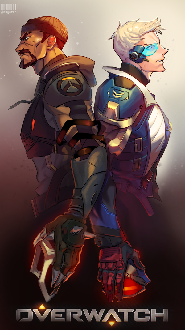 Overwatch - Soldier 76/Reaper Fanart | Overwatch in 2019
