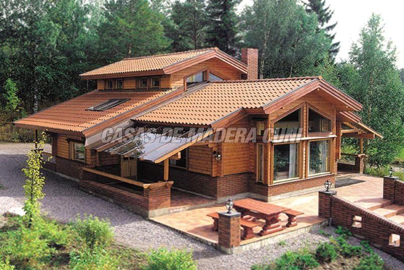 Casas rusticas buscar con google home pinterest - Casas rusticas de madera ...