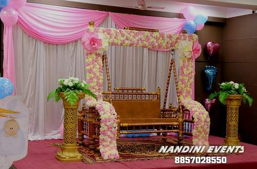Dohale Jevan Decoration Packages | Baby Shower, Naming ...