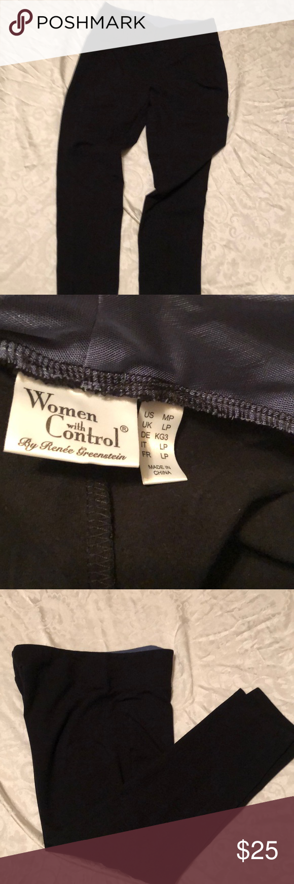 12930ea251aa Women With Control Spandex Pant. These are brand new. Never been worn. QVC