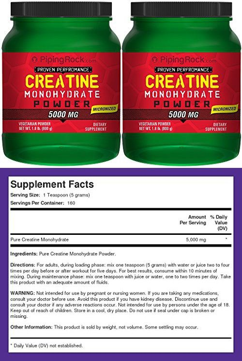 Creatine Powder Micronized 2 Bottles X 1 8 Lb 800 Grams