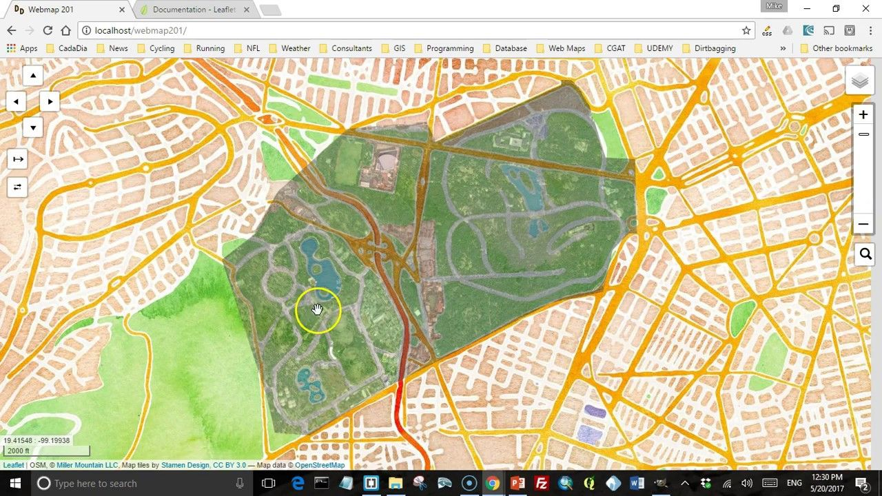 Adding an image or raster data to a leaflet map | Geospatial / GIS