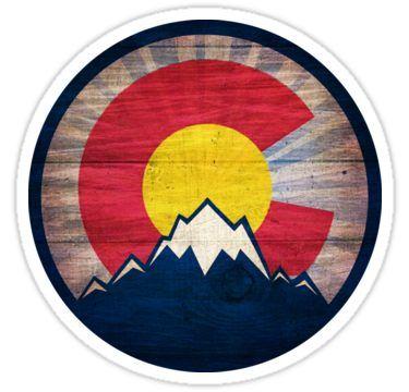 Denver Broncos Vinyl Sticker Decal *SIZES* Cornhole Wall Car Truck Colorado Flag