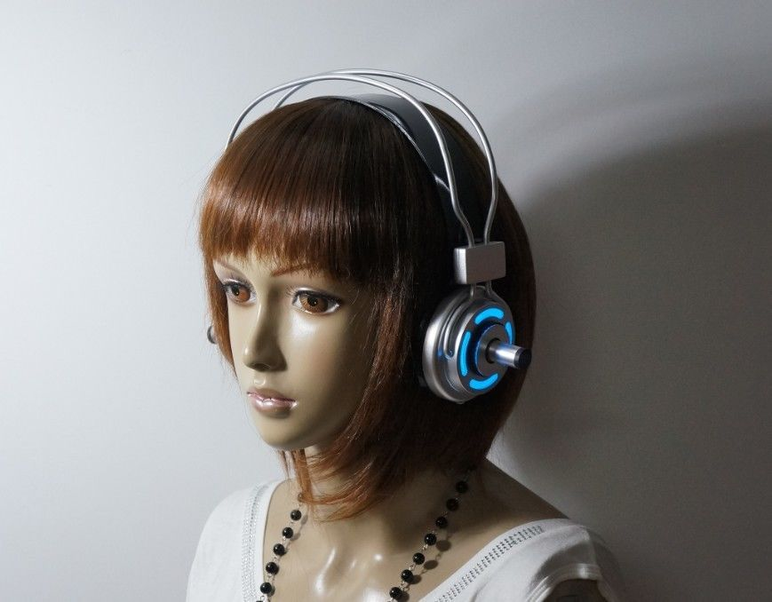 Sonicomi Super Sonico Cosplay Prop Anime Halloween Party Real iPhone Headphone