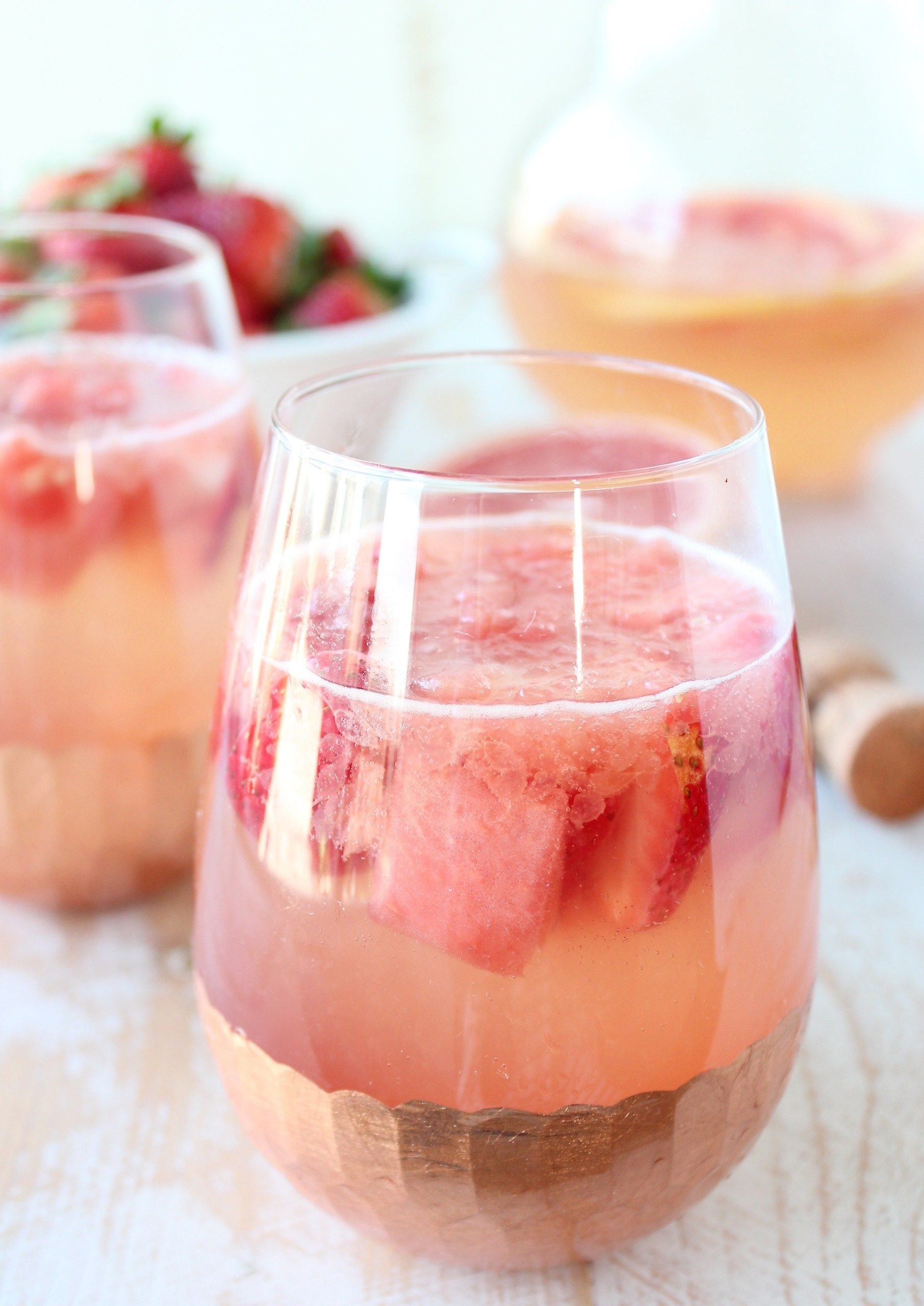 Sparkling Grapefruit Watermelon Sangria Recipe