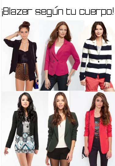 Diferencia entre saco y blazer para mujer