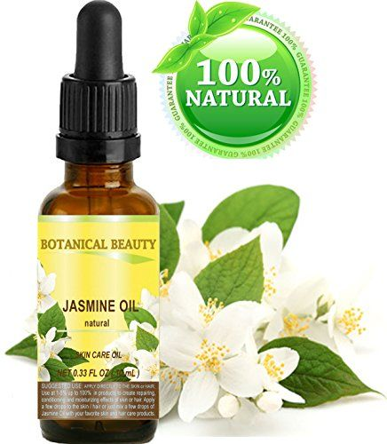JASMINE OIL 100  Natural 033 Floz 10 ml For Skin Hair and Nail Care * Check out this great product.