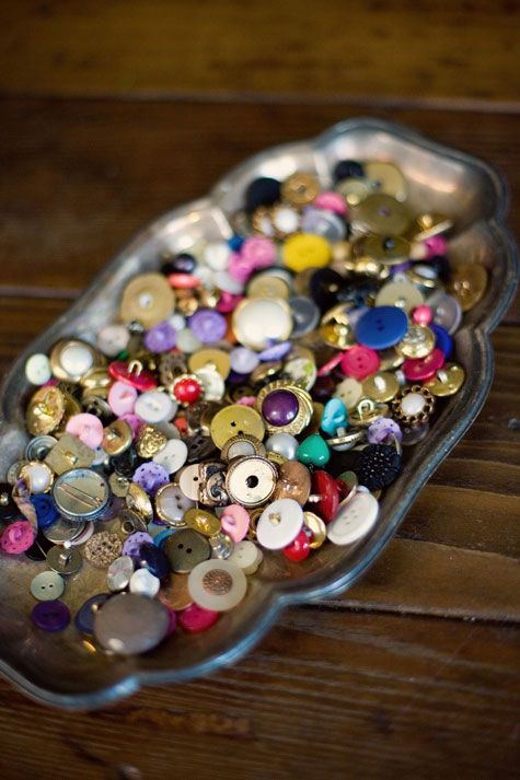 This is the original pin message: Reminds me of the story of my Grandfather....found buttons are good luck!