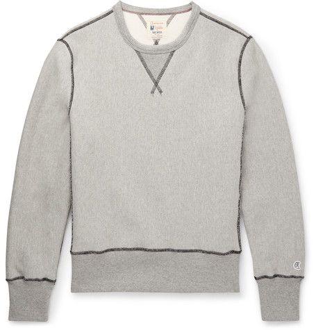 Todd Snyder x Champion Stretch-Cotton Sweatshirt