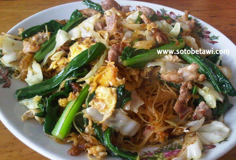 Bihun Goreng Rumah Makan Sederhana Cianjur Jawa Barat Makanan