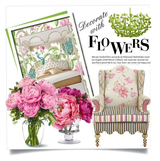 """""""Decorate with Flowers (Top Home Set for May 27, 2015)"""" by magic-pudding ❤ liked on Polyvore"""