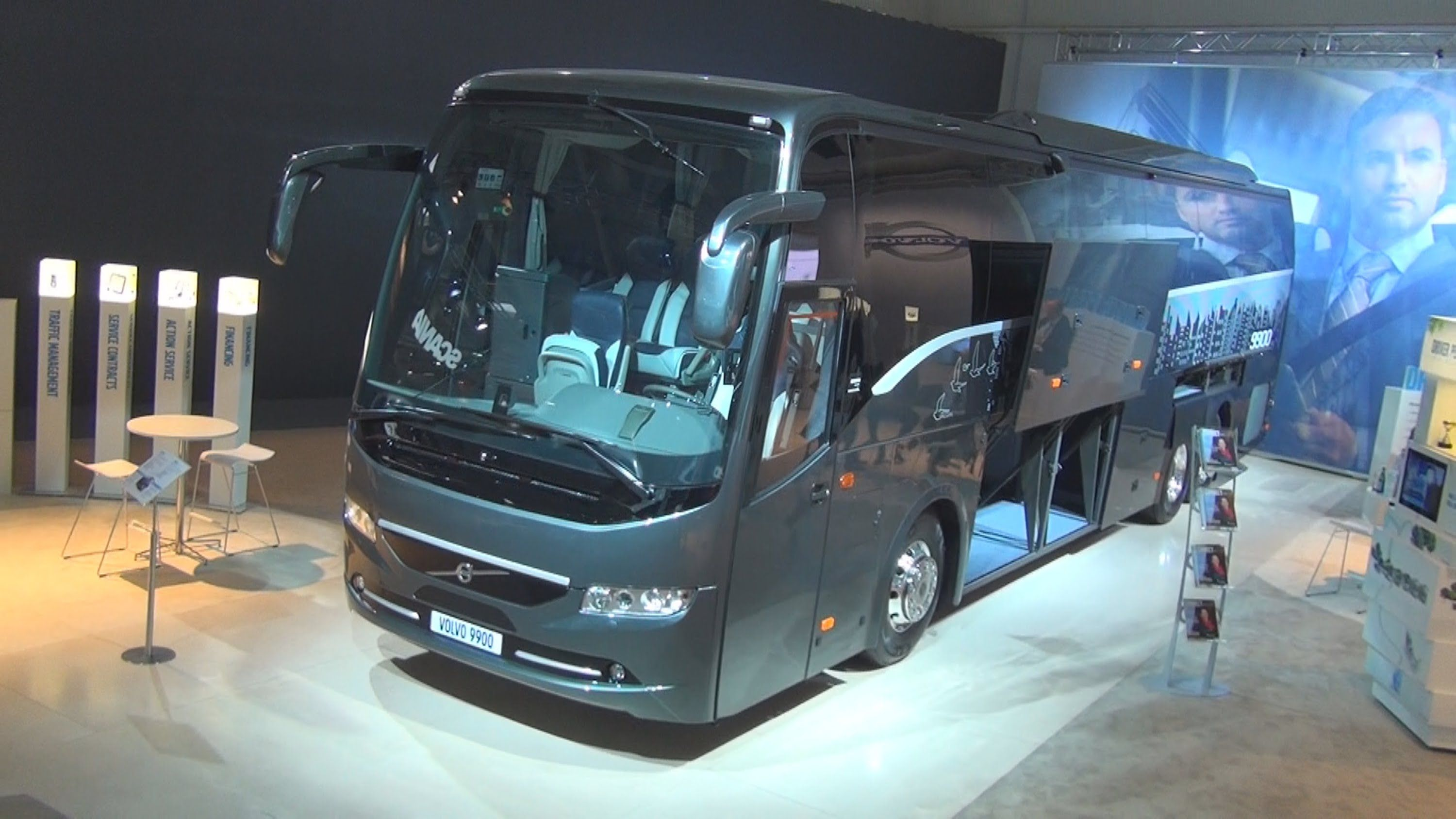 Volvo 9900 Bus | Volvo, Commercial vehicle, Exterior