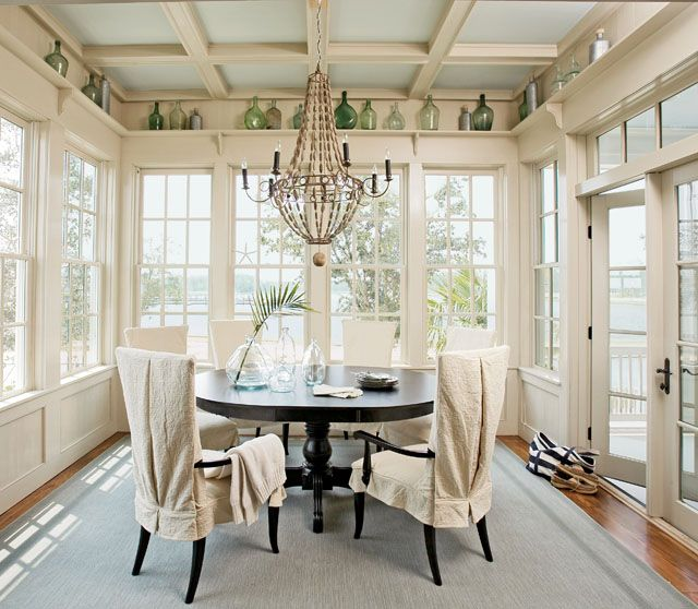 Sunroom Dining Room: Dining At Its Best...Plan #1426, Captain's Watch