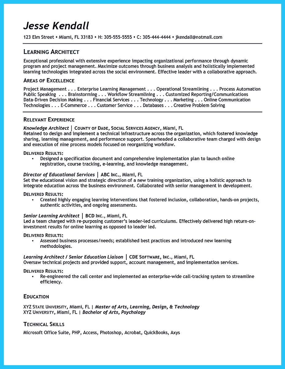 Nice Outstanding Data Architect Resume Sample Collections Resume