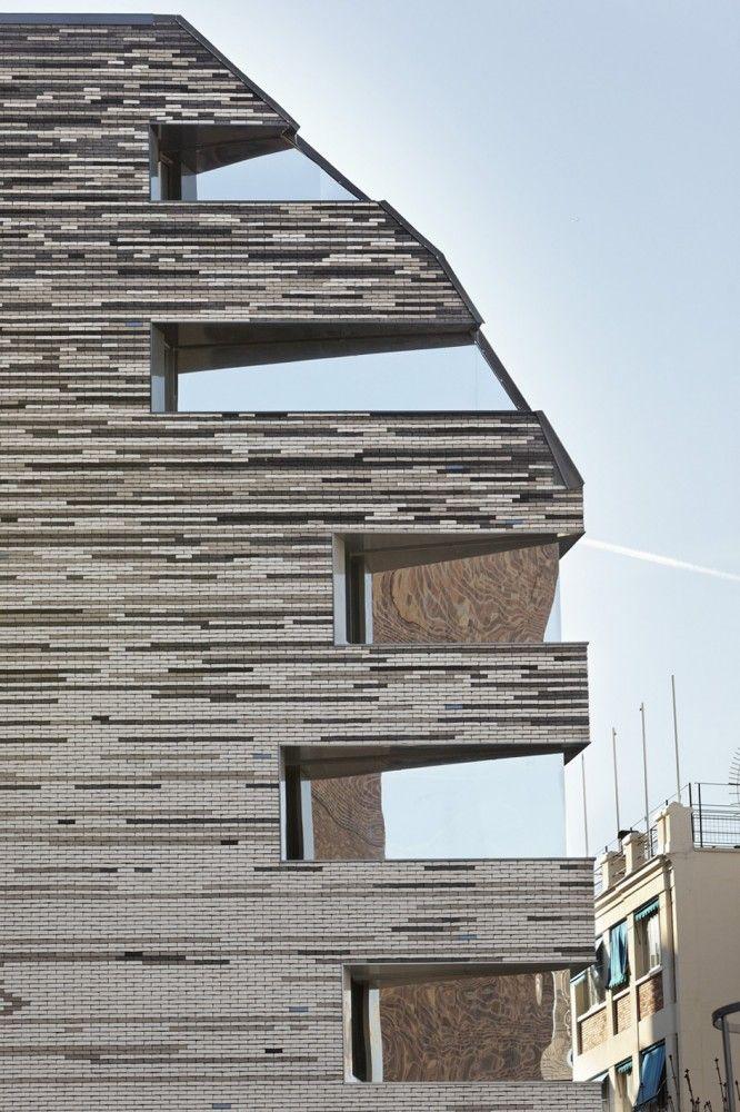 gallery of villa des sciences log architectes 4 brick and stone pinterest. Black Bedroom Furniture Sets. Home Design Ideas