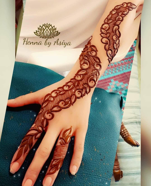 Stylish Mehndi Design On Instagram Henna Design By Henna By Asiya Henna Hennafun Hennaart Hennainspi In 2020 Latest Mehndi Designs Stylish Mehndi Mehndi Designs