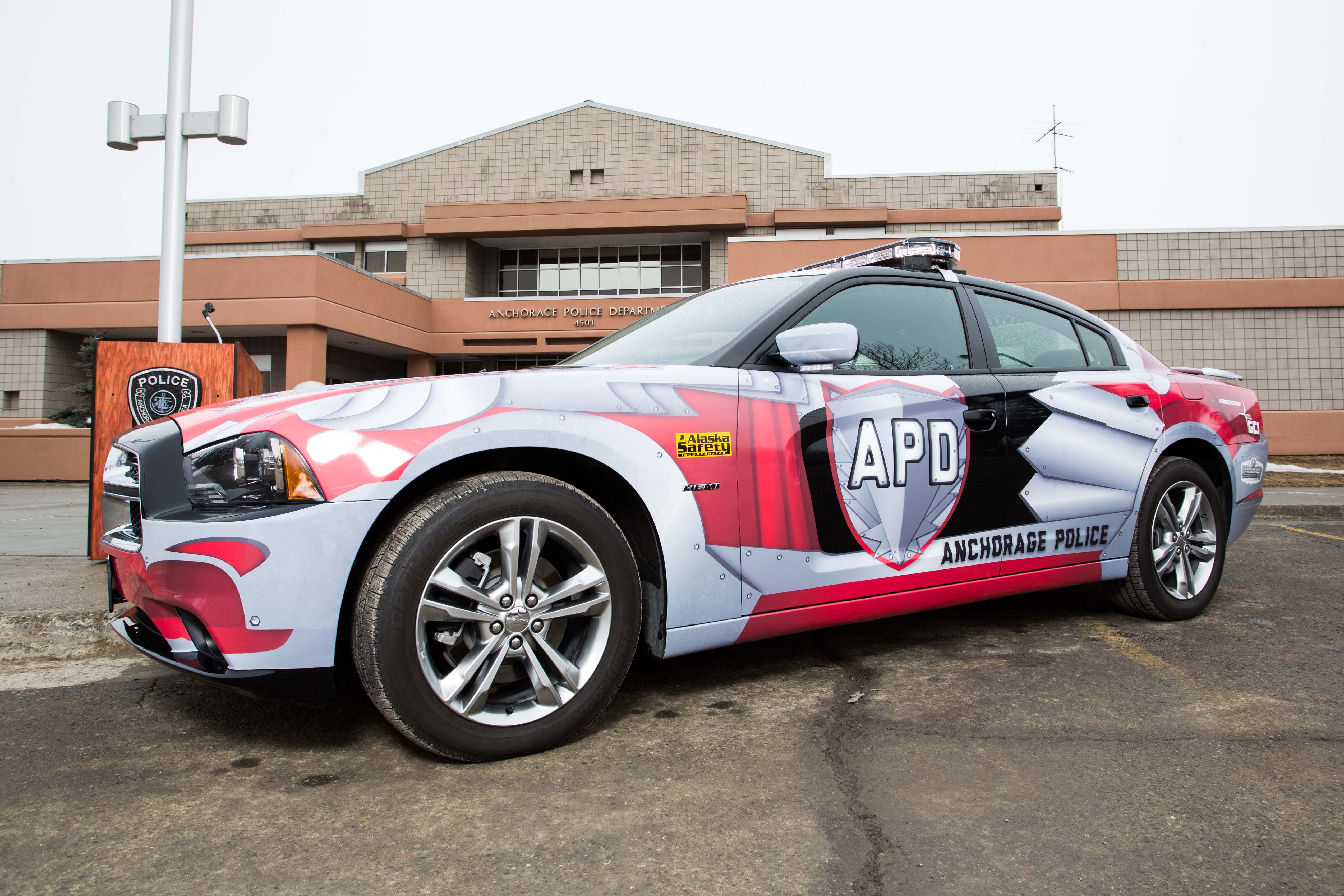 New Dodge Charger Police Cruiser For Anchorage Police Department Politie