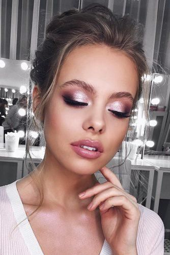 40 Pretty&Attractive Wedding Makeup Ideas for Stylish Brides