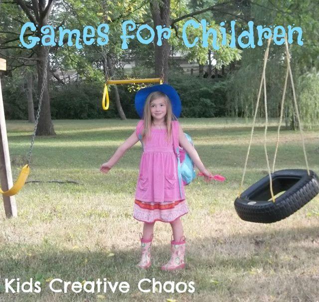 Indoor and Outdoor Games for Children #gamesforkids #kidscreativechaos