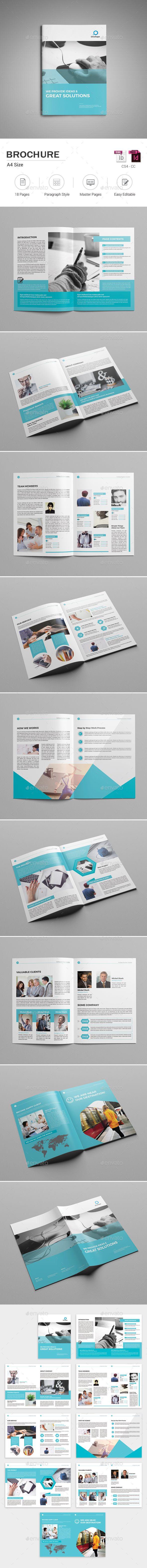 Brochure | Diseño editorial, Editorial y Revistas