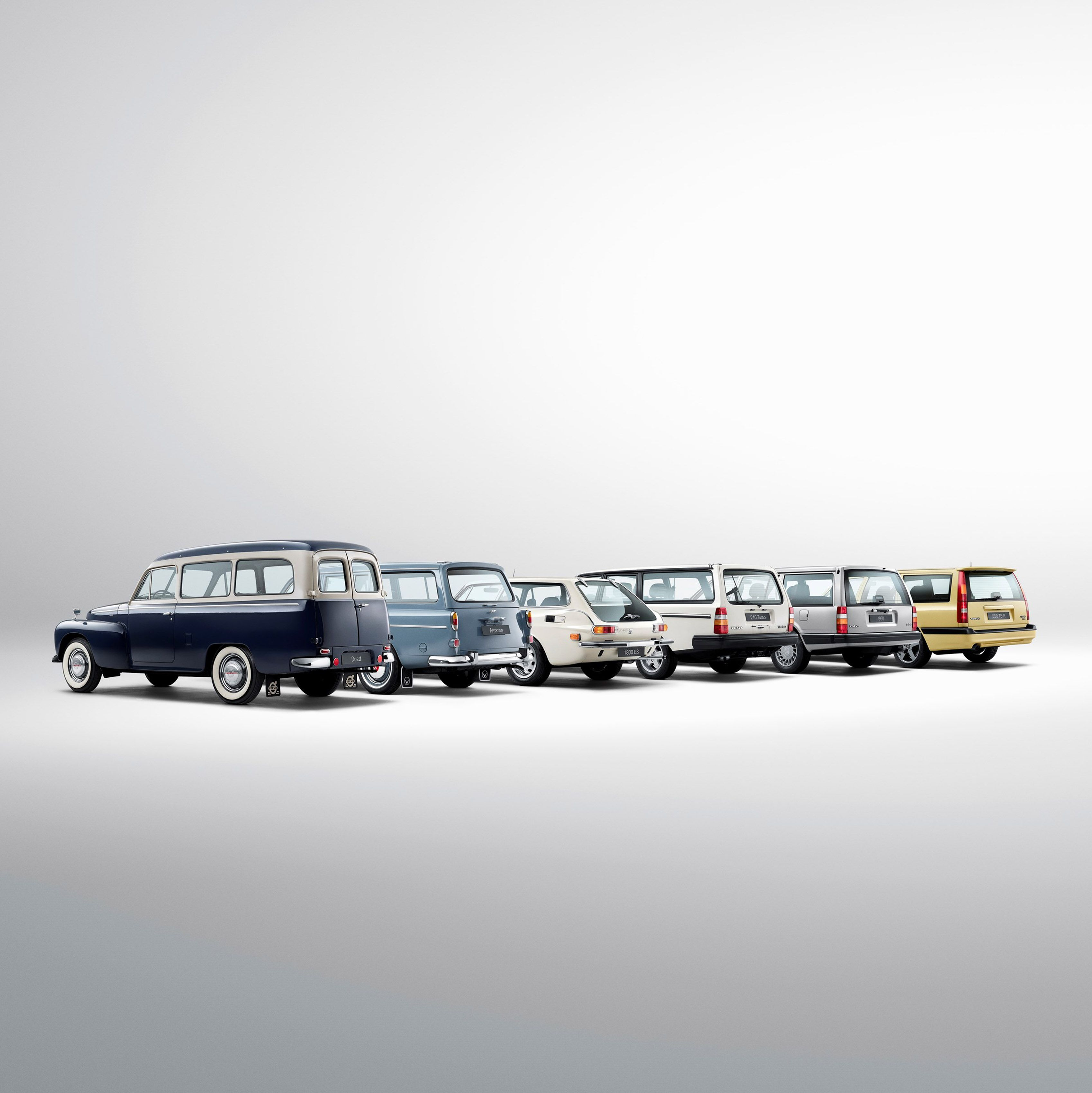 Historical Line-up of Volvo