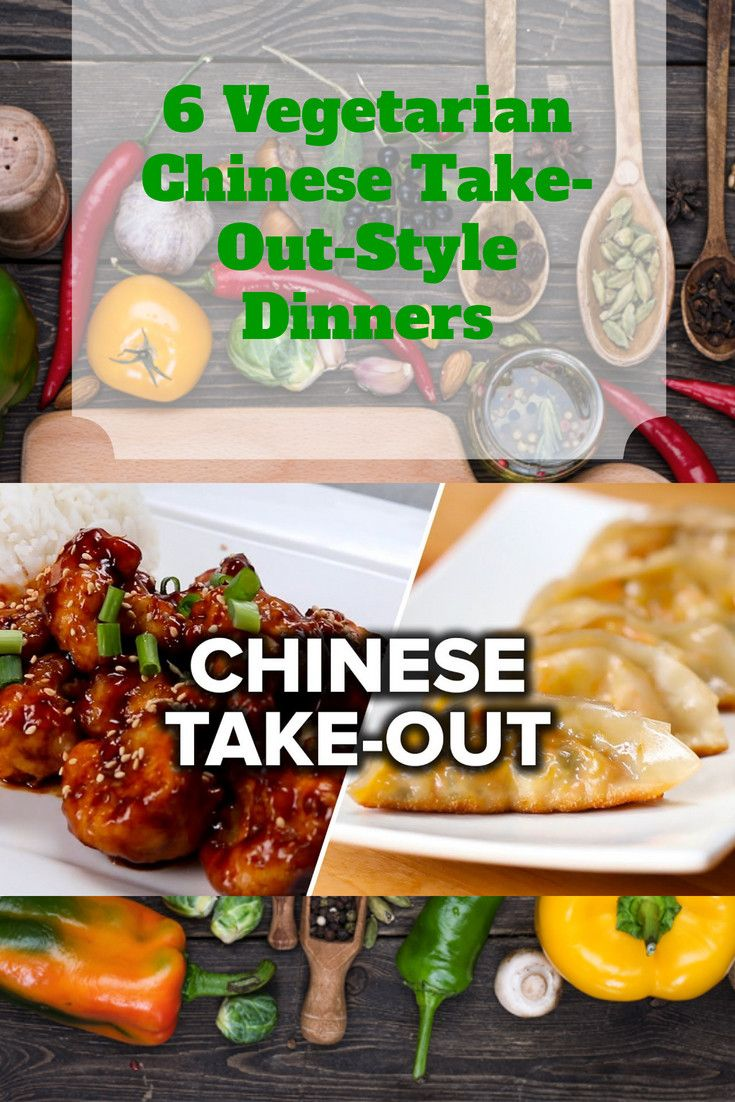 6 Vegetarian Chinese Take-Out-Style Dinners images