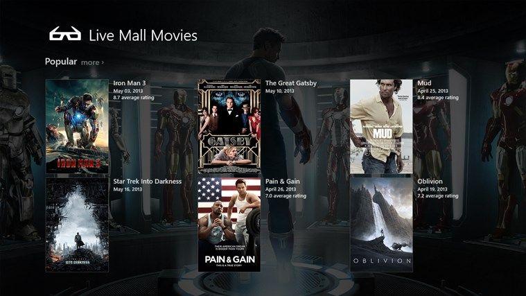 Livemall Movies screen shot 0