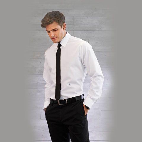 Seidensticker Slim Fit White Shirt - Black Schwarze Rose - Available to buy  online www.