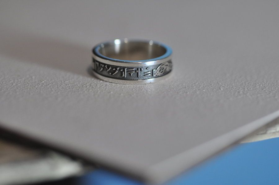 Skyrim Ring By Worldofjewelcraft On Deviantart Rings Skyrim Silver Rings
