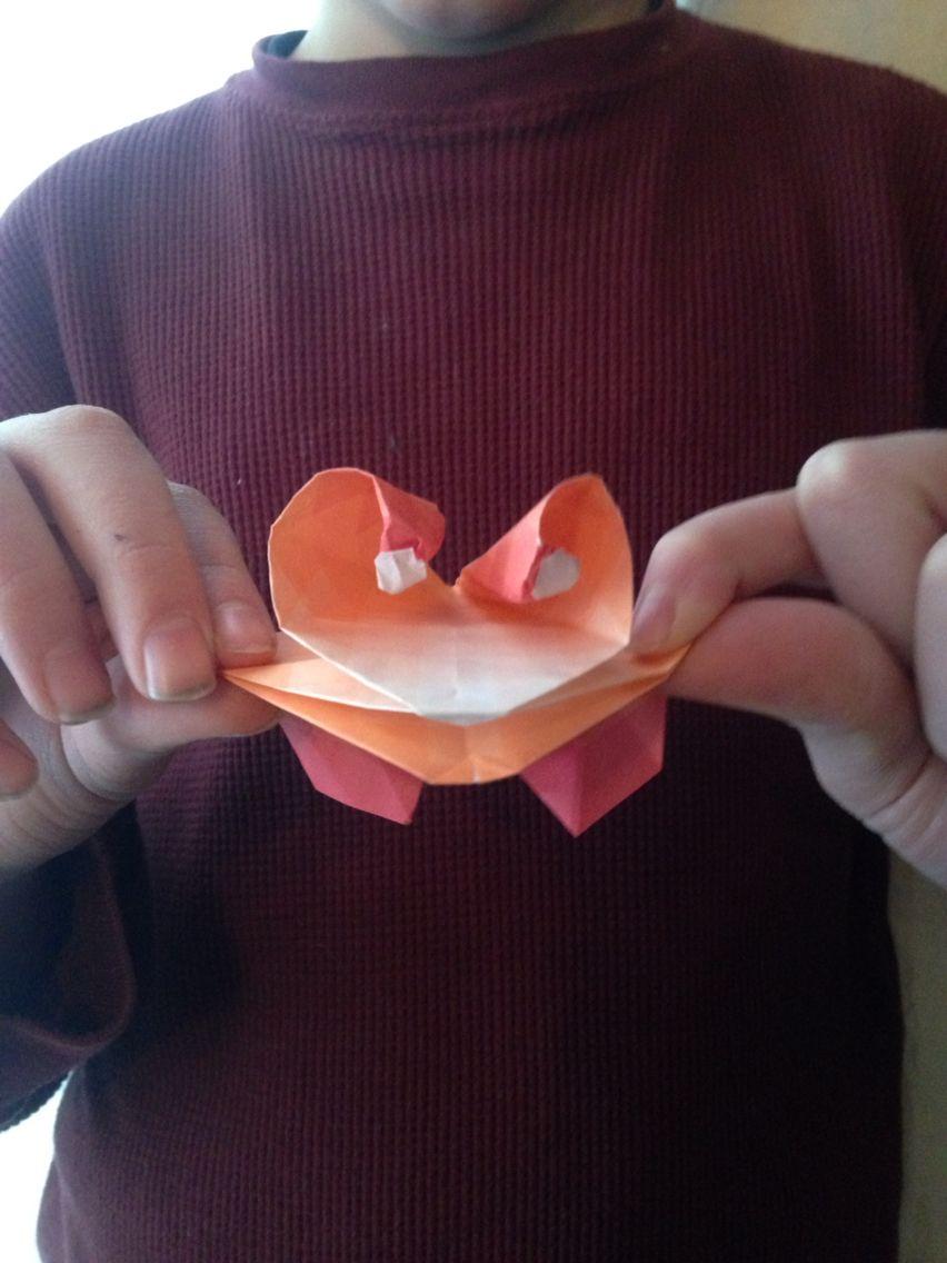 Origami Frog By Skylar S From Jeremy Shafers Origami Ooh La La