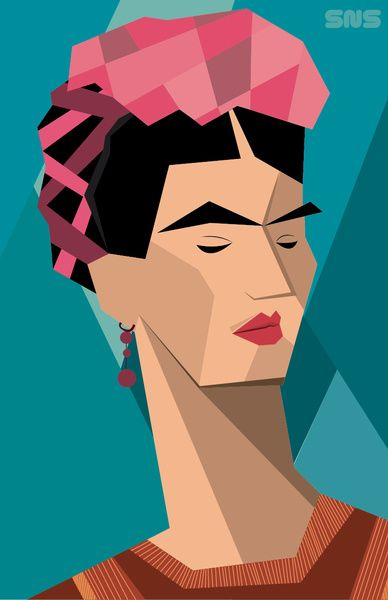 How to Draw Frida Kahlo · Art Projects for Kids