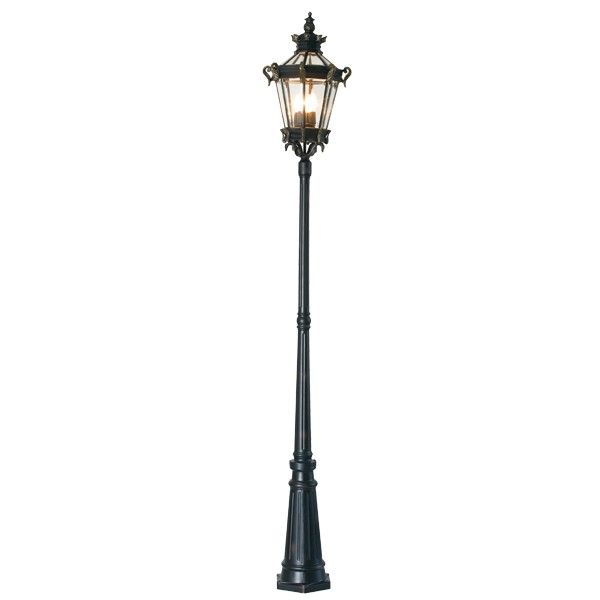 Alcazar 4 Light Street Light In Burnt Gold Garden Lighting Outdoor Lighting Lighting