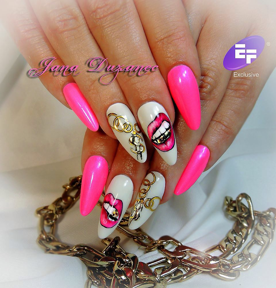 Jana duzanec - Jana Duzanec Beautiful Nails Pinterest Ghetto Nails, Bling