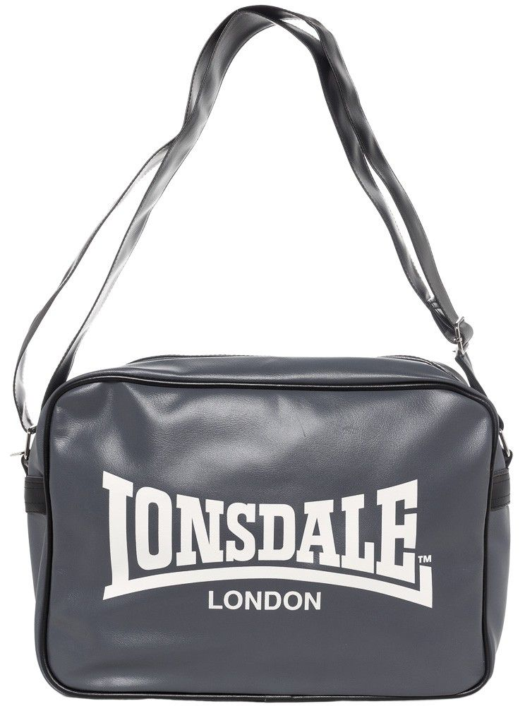 0bdbef0f9491 LONSDALE TREND SHOULDER BAG GRAY This retro Lonsdale shoulder bag Trend is  made of a smooth PVC material with leather grain. It is not only classic but  ...