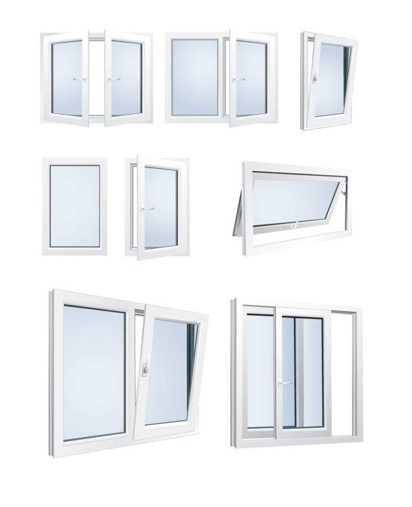 Ventanas De Aluminio Vectorizadas Diseno Ventanas Ventanas De