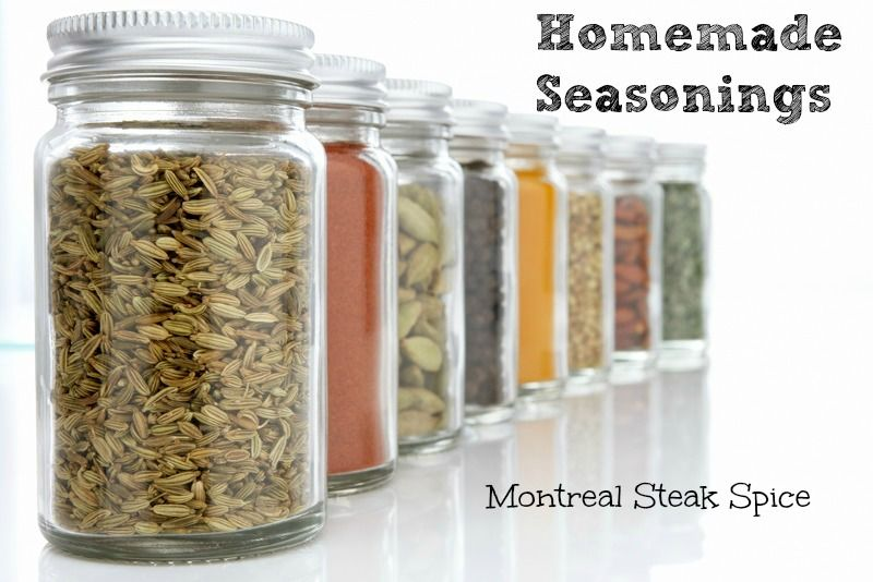 MONTREAL STEAK SEASONING - This is a new seasoning mix to our family. We like to use Montreal Steak Seasoning for more than Steak. It actually tastes really good sprinkled on top of chicken with a little cheddar cheese and salsa.