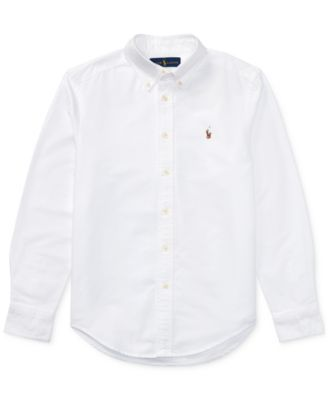 9fd45f5b7 Big Boys Blake Oxford Shirt | Products | Ralph lauren boys, Sports ...