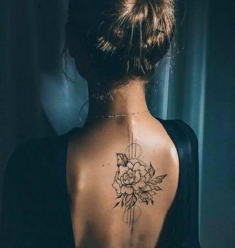 51 Sprawling Linework Tattoos By Chaim Machlev Page 20 Of 51 Rose Idea Girl Back Tattoos Back Tattoo Tattoos