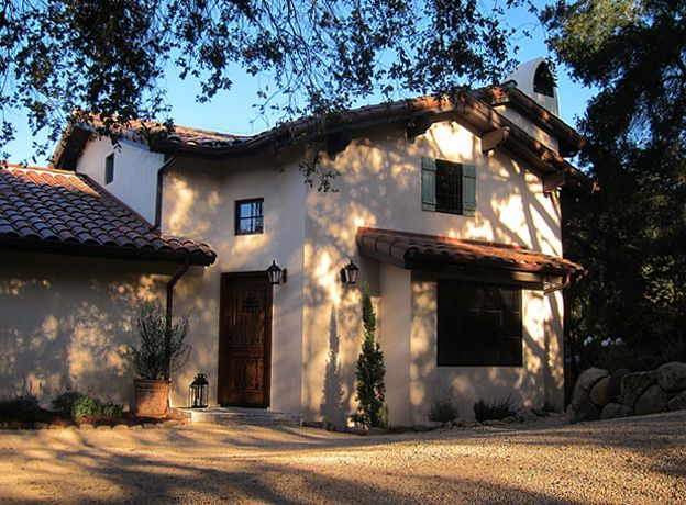 Tuscan style homes design in Santa Barbara and Montecito ...