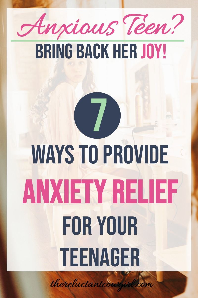 Photo of Anxiety Relief for Teenagers
