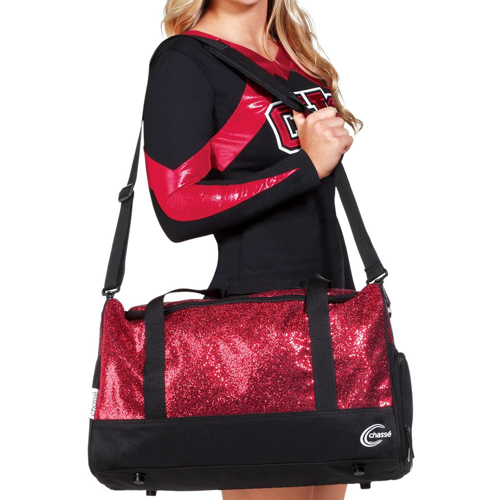 Chassé Glitter Duffle Bag Comes In 4 Colors Cheerleading Bags Cheer