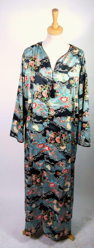 Kimono vintage Kimono años 70. Talla xl